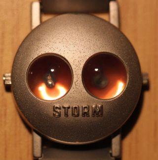Storm Armbanduhr Mit 2 Zeitzonen Aus Den 90ern (??) Uhr Quartz Bild