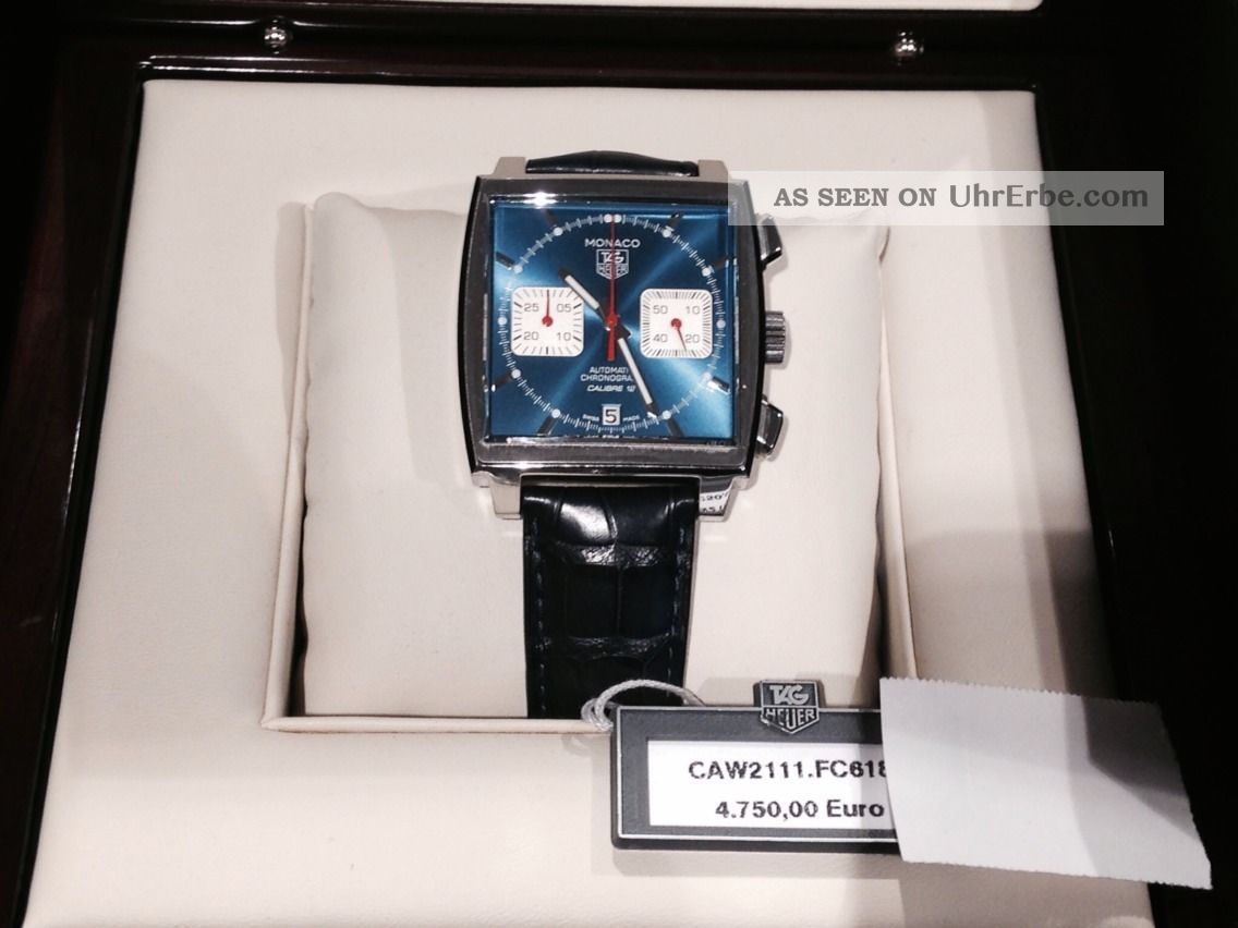 Tag Heuer Monaco Steve Mc Queenvon Uhrentreff München Armbanduhren Bild