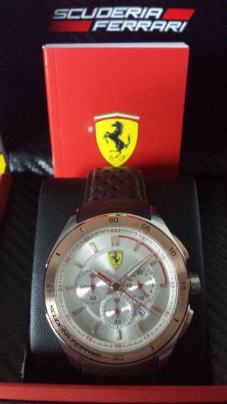 Ferrari Uhr Chrono Gran Premio Aus Sammlungsauflösung Uvp 337,  - Bild
