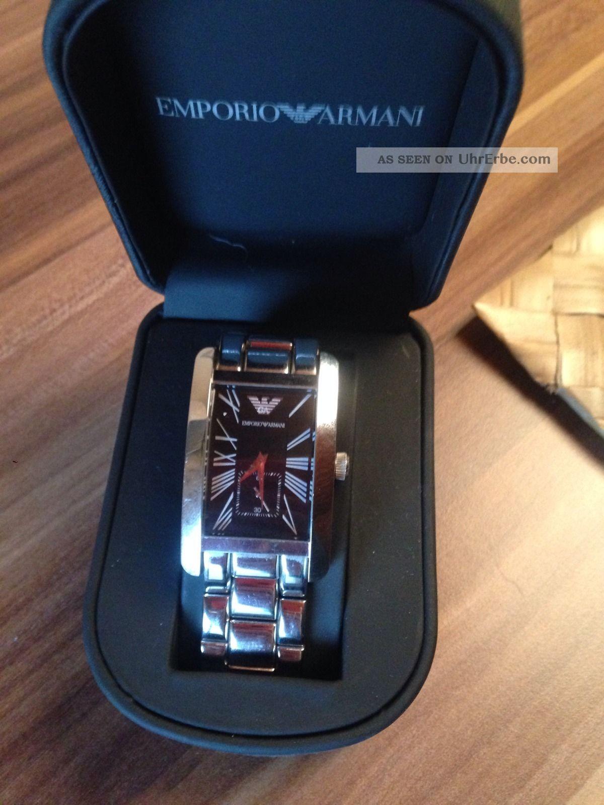 Emporio Armani Herrenuhr Top Armbanduhren Bild
