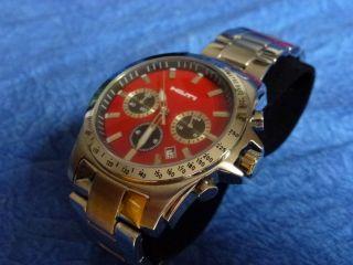 Hilti Armbanduhr Chronograph Madison Taucheruhr Uhr Geschenkidee Selten Bild