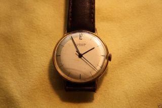Junghans 15 Jewels Uhrensammlung Hau Zweifarbiges Ziffernblatt Teilweise Matt Bild