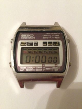 Seiko Vintage Uhr Lcd A127 - 5020 Bild