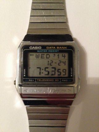 Casio Db - 310 Data Bank Vintage Uhr Bild