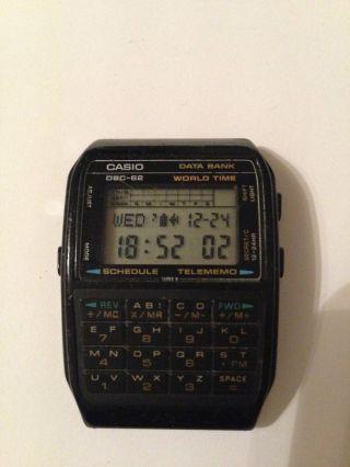 Casio Dbc - 62 Vintage Uhr Bild