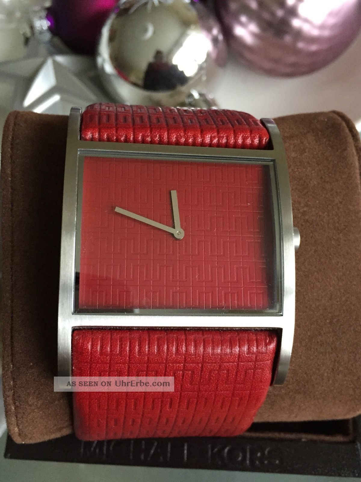 - - Wunderschöne Große Jacques Lemans,  Rot,  Wie Top Armbanduhren Bild