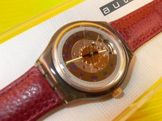 Automatic Swatch Rubin In & Ovp - Sam100 Bild