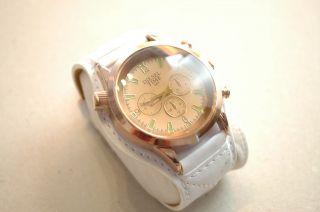Diesel Time Herren Damen Unisex Armbanduhr Uhr Weiß Bild