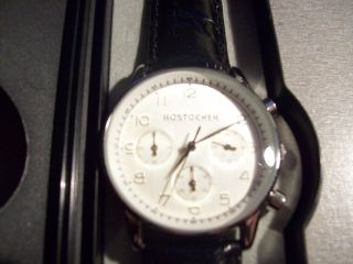 Uhr Chronograph Rostocker Rostock Seiko Uhrwerk Kaliber 54 Wertig Bild
