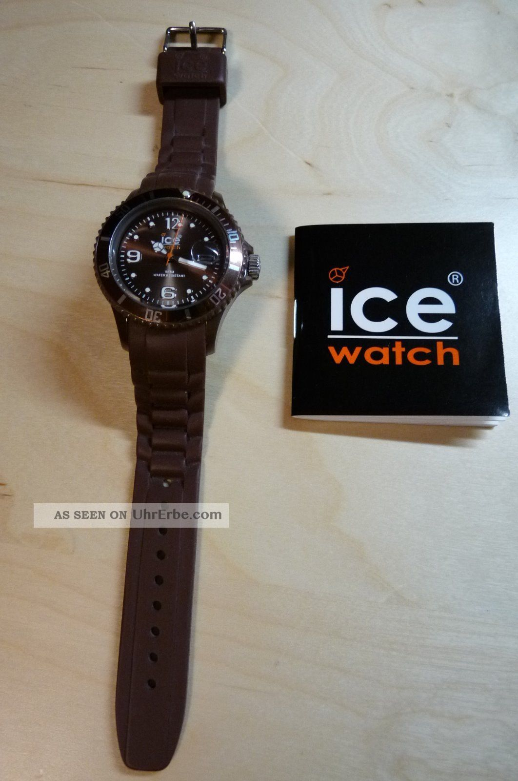 Ice Watch Armbanduhr Unisex Braun Armbanduhren Bild