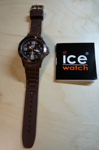 Ice Watch Armbanduhr Unisex Braun Bild
