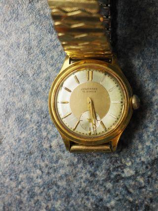 Junghans Armbanduhr 50er Jahre Vintage Bild