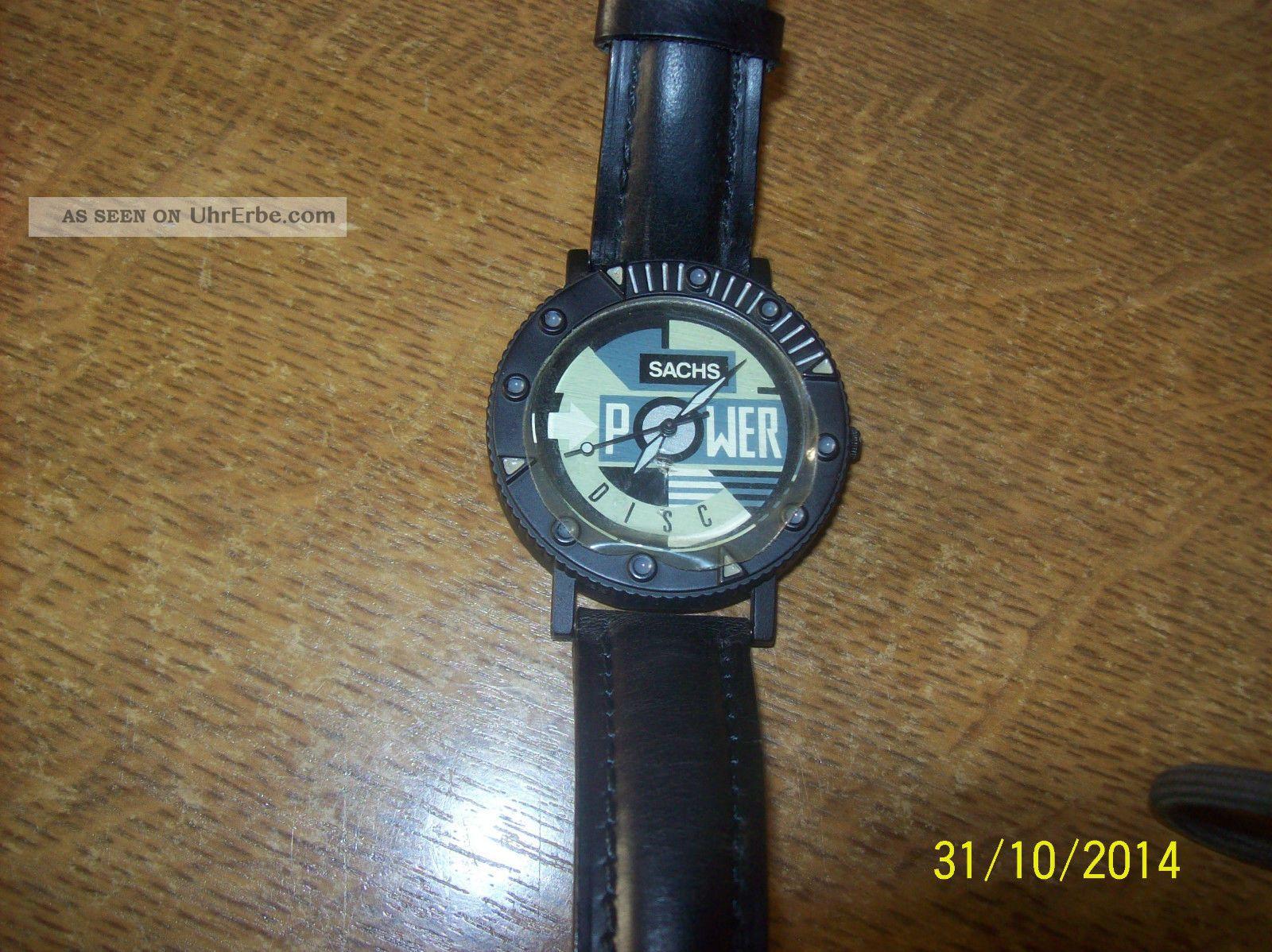 Werbearmbanduhr Sachs Power Selten Armbanduhren Bild
