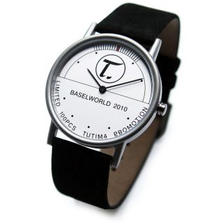 Tutima GlashÜtte / Sa.  Armbanduhr - Titan Uhr - Baselworld 2010 - Bild
