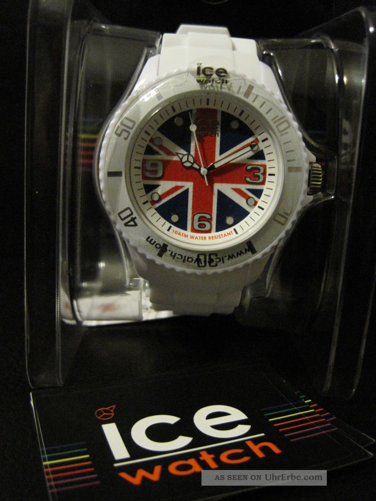 Ice Watch Quarzuhr Ice - World Uk England Big Silikonarmband Armbanduhren Bild