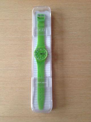 Swatch Uhr Farbe Lemongrass Gent (gg204) Bild