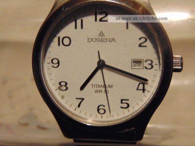 Herren Uhr Dugena Titanium Wr50 Armbanduhren Bild
