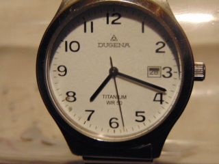 Herren Uhr Dugena Titanium Wr50 Bild