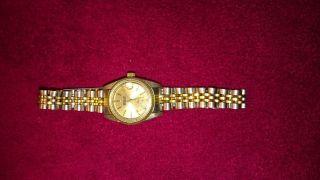 Mebus Uhr In Silber/ Gold Bild