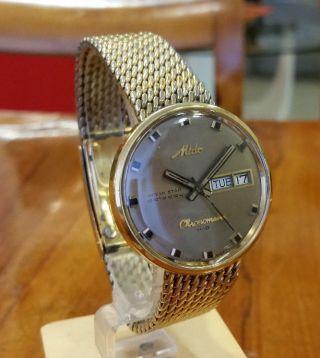 Mido H - B Chronometer Ref 9369 - 36.  000 A/h Bild
