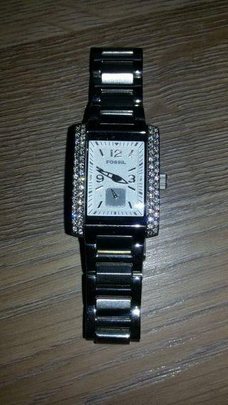 Damen Armbanduhr Fossil Bild