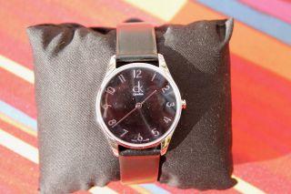 Weihnachten Calvin Klein Armbanduhr Damen Herren K4d221c4 Bild