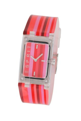 Esprit Es103362006 Houston Red Ice Damen Uhr Armband Markenuhr Bild