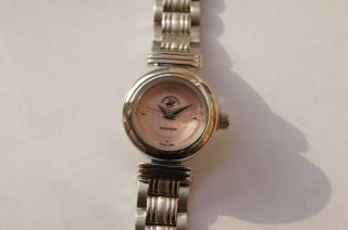 Beverly Hills Polo Club Damenuhr Uhr Elegance Silber Rosa Bild