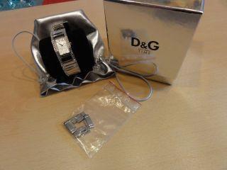 Uhr Dolce & Gabbana Damenuhr,  Edelstahl,  Mit Steinen; Rar Bild