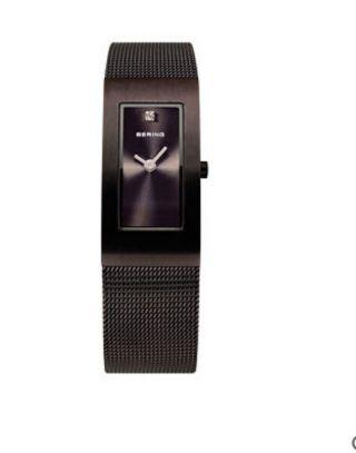 Bering Damenuhr Armbanduhr Braun Milanaise 10817 - 393 Bild