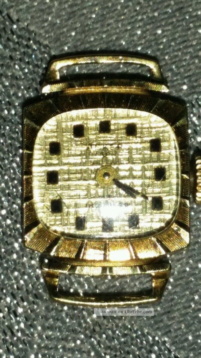 Anker Damen Aufziehuhr 585 Gold Armbanduhren Bild