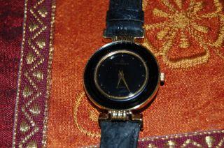 Alte Dugena Armbanduhr Damenuhr Lederarmband Wunderschön Kaum Getragen Bild