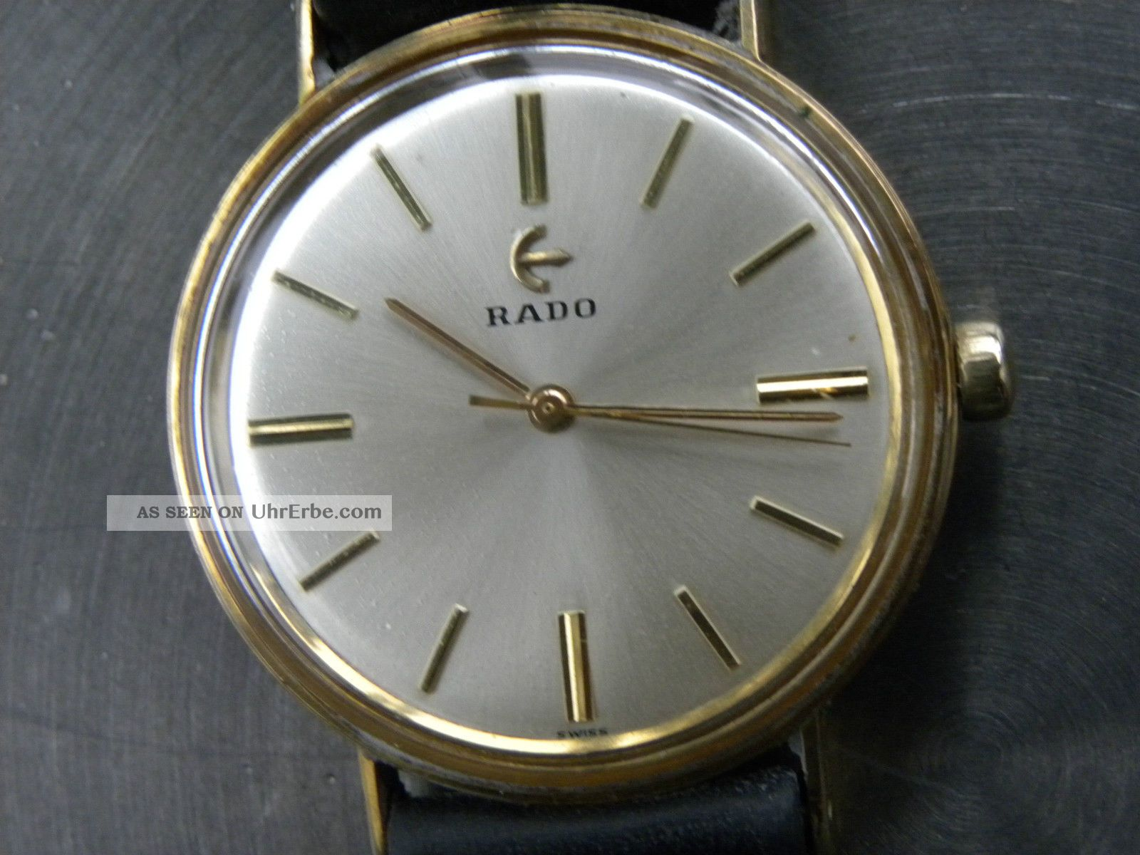 Gepflegte Rado Handaufzug Armbanduhren Bild