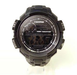 Calypso K5595/6 By Festina,  49mm,  Sport - Uhr,  Datum,  Alarm,  Stoppuhr,  Neuwertig Bild