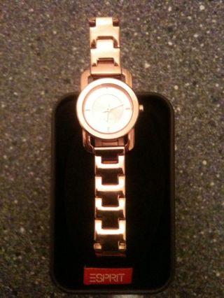 Armband Uhr Esprit Damen Kupfer Inkl.  2 Jahre Bild