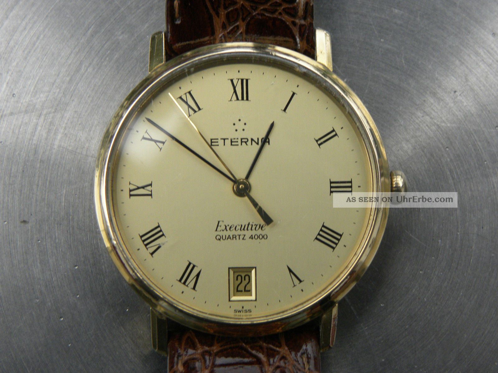 Eterna Executive Swiss Made Armbanduhren Bild