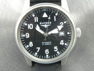 Elysee Automatic 21 Jewels Gu.  Zust. Bild