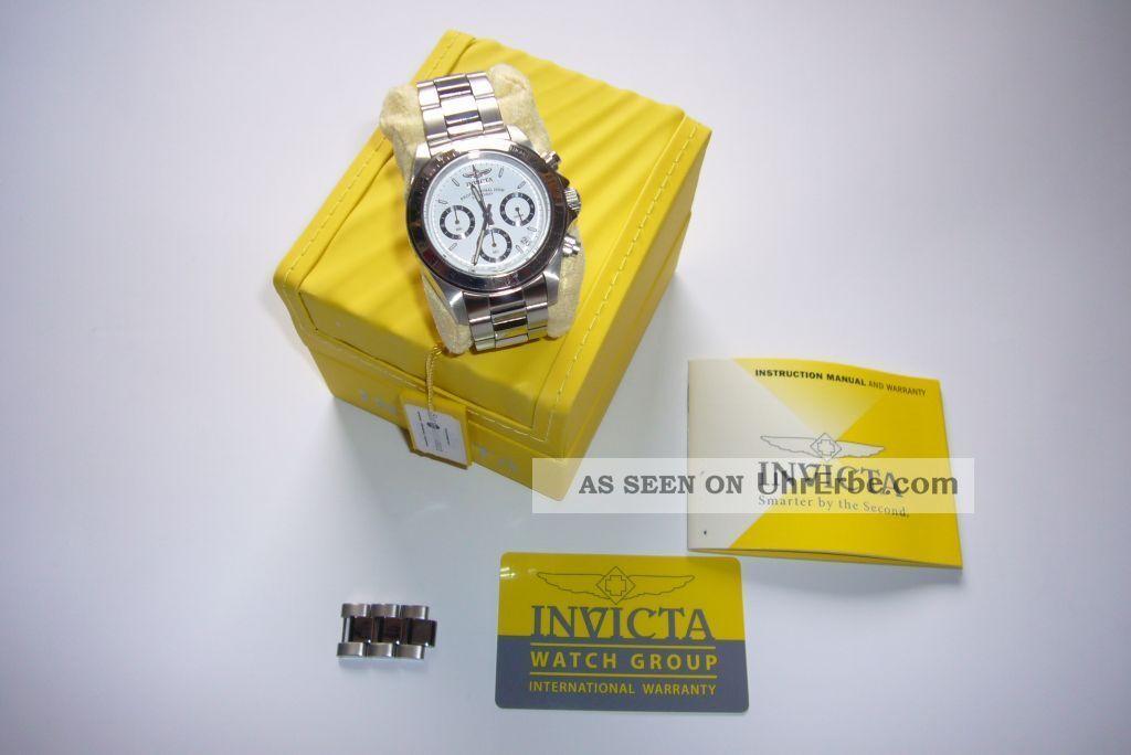 invicta herrenuhr uhr speedway 9211 edelstahl armbanduhr. Black Bedroom Furniture Sets. Home Design Ideas