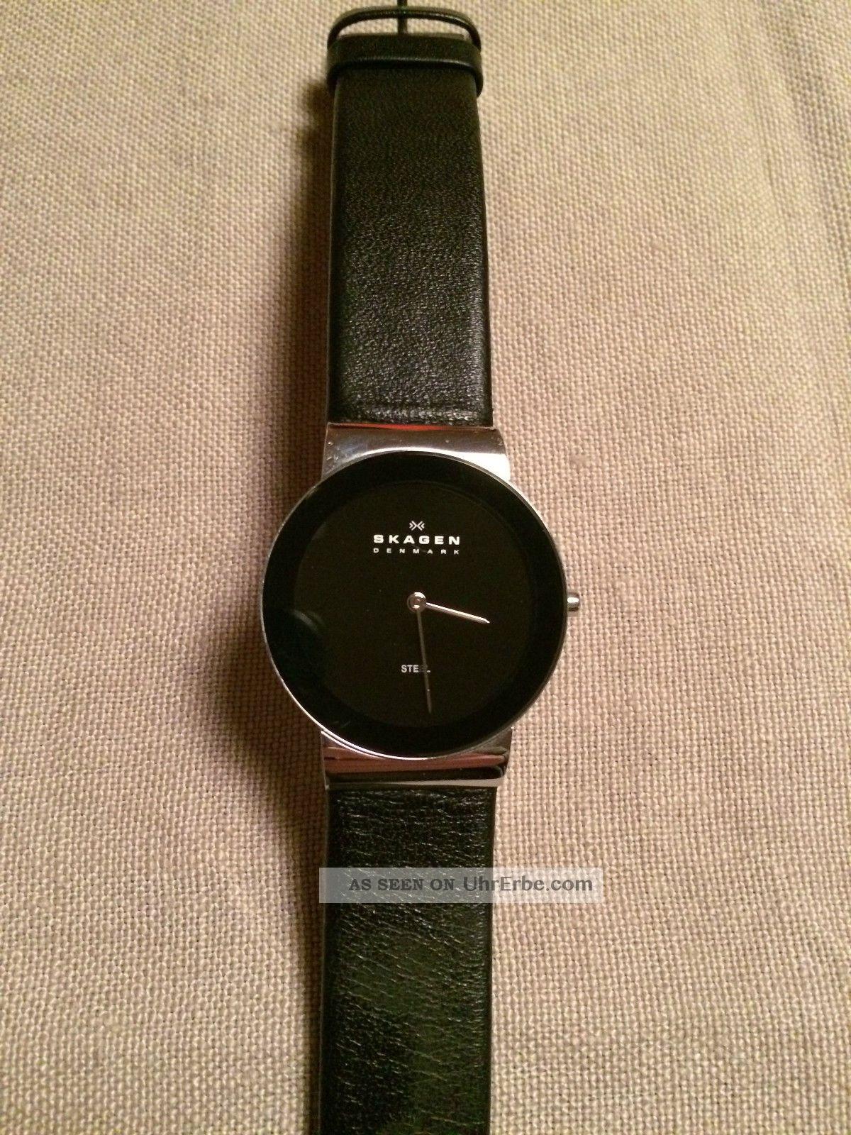 Skagen Slimline Damen Arbanduhr (358lslb) Armbanduhren Bild