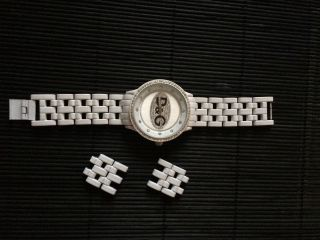 Damen Armbanduhr Weiß Bild