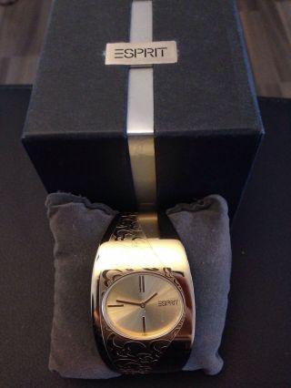 Elegante Esprit Uhr In Ovp Bild