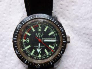 Armbanduhr Aus Papas Sammlung Nr.  19 Re Watch Funktion Mindes 12 Std. Bild