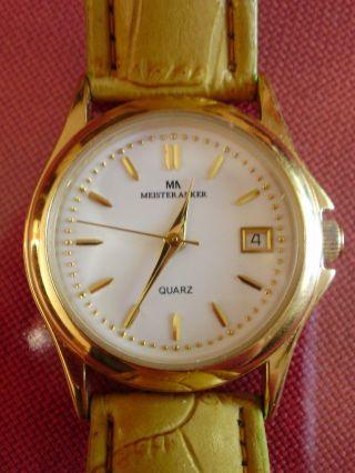Damen Armbanduhr Meister Anker Mit Datumsanzeige Bild