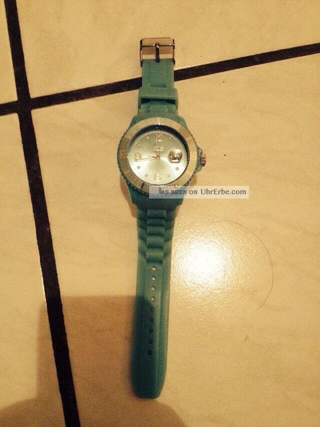 Ice Watch Big Mintfarbig Pünktlich Zu X - Mas Armbanduhren Bild