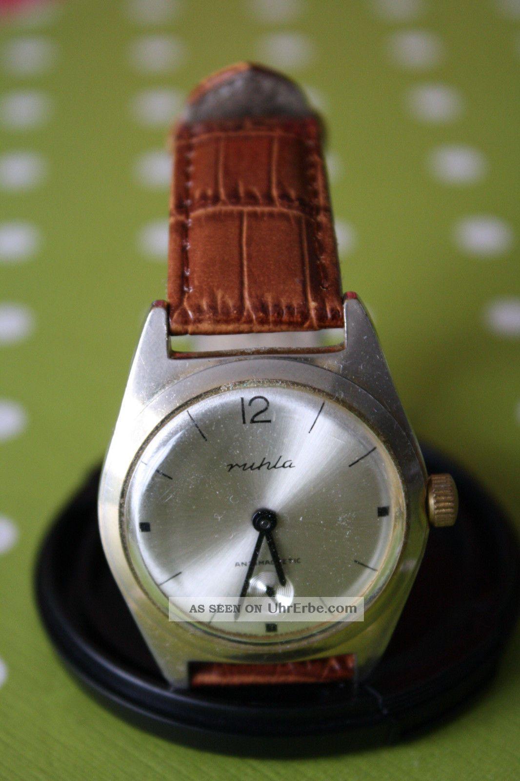 Ruhla Uhr Vintage Armbanduhren Bild