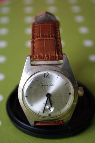 Ruhla Uhr Vintage Bild
