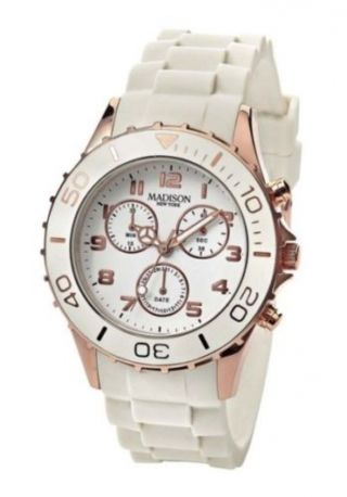 Madison York Damenuhr - Chrono Farbe Rose Bild