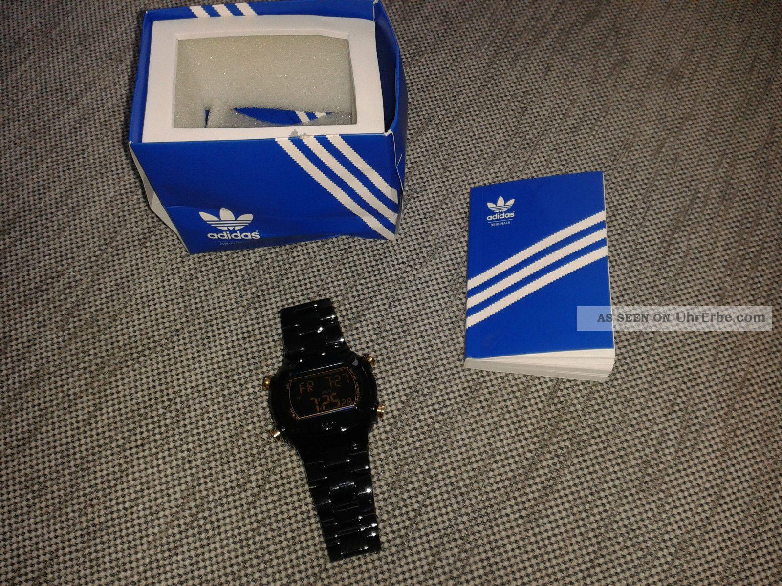 Adidas Unisex - Armbanduhr Digital Plastik Adh6503 Armbanduhren Bild