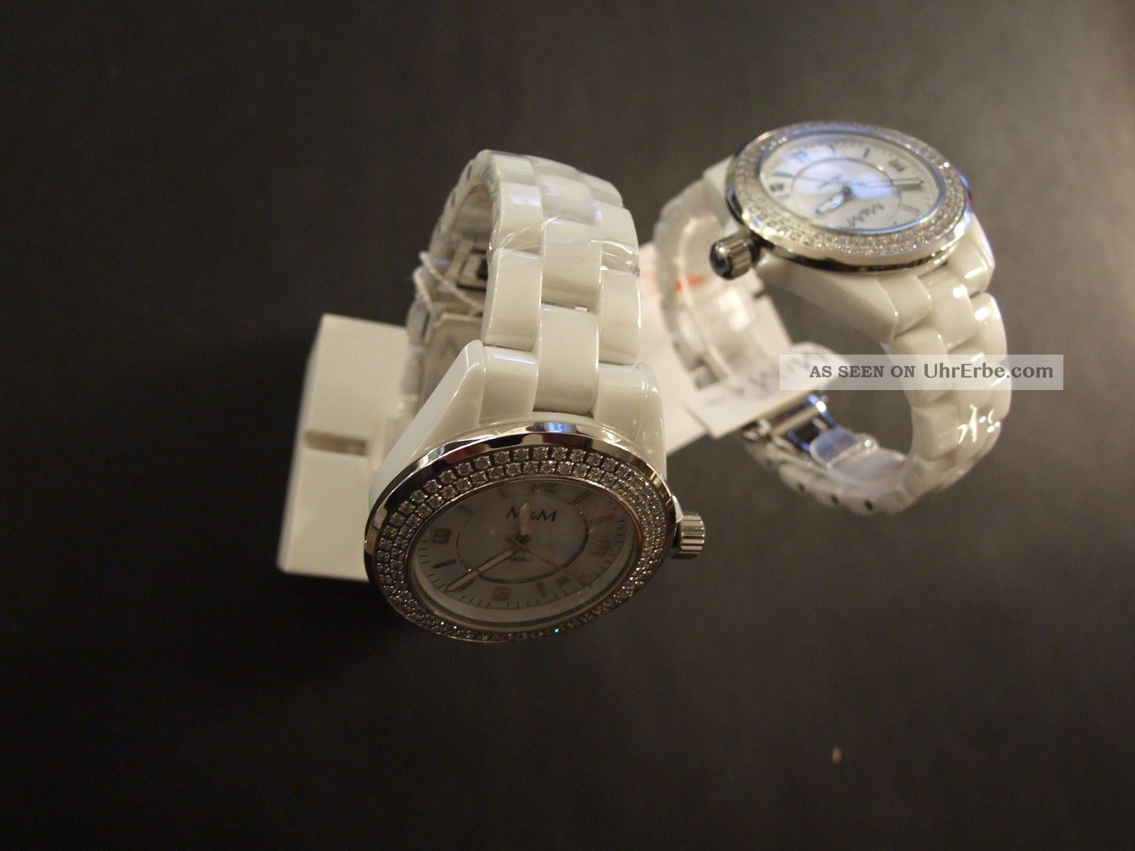 Damenuhr M&m Sports Ceramic Herbst / Winter 2014 Armbanduhren Bild