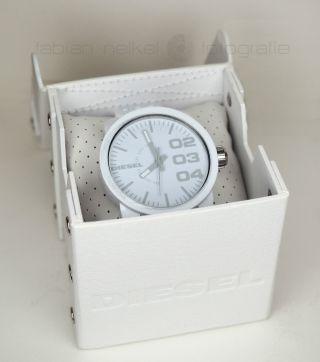Diesel Armbanduhr Franchise Xl Weiß/white Top Vorführware,  Nixon Uhr Bild